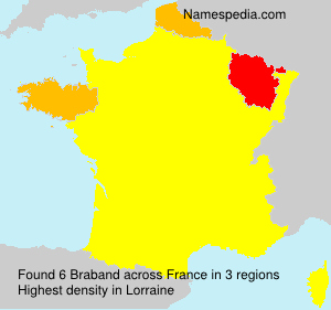 Surname Braband in France