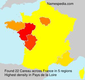 Surname Careau in France