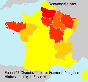 Chaudoye