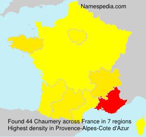 Chaumery