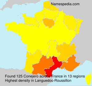 Surname Conejero in France