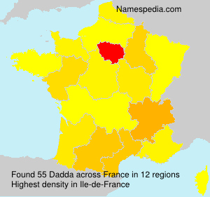 Surname Dadda in France