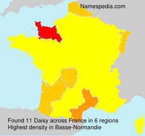 Surname Daisy in France