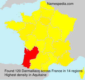 Surname Darmaillacq in France