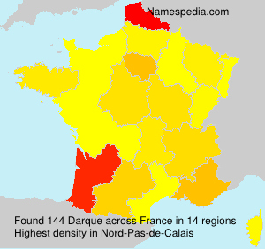 Surname Darque in France