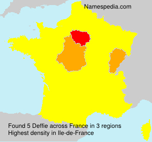 Surname Deffie in France