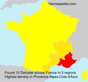 Surname Defustel in France