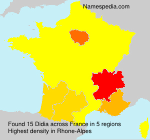 Surname Didia in France