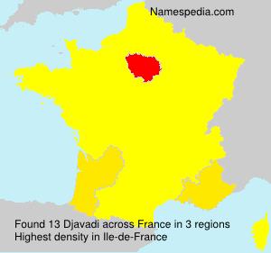 Familiennamen Djavadi - France
