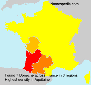 Surname Doneche in France