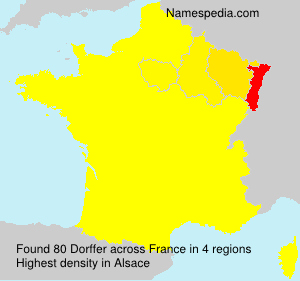 Surname Dorffer in France