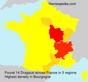 Surname Dragaud in France