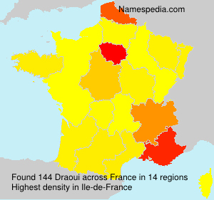 Surname Draoui in France