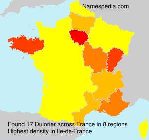Surname Dulorier in France