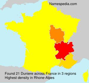 Duniere