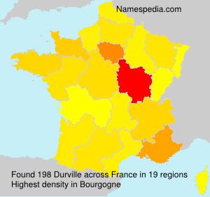 Surname Durville in France
