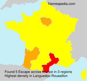 Surname Escape in France