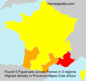 Surname Figueruelo in France