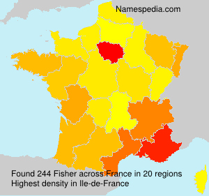 Surname Fisher in France
