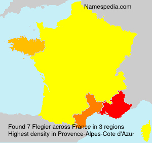 Surname Flegier in France