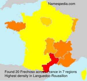 Familiennamen Frechoso - France