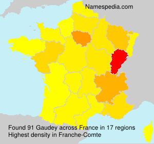 Gaudey
