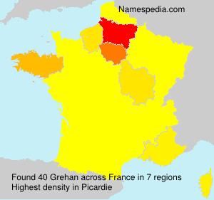 Familiennamen Grehan - France