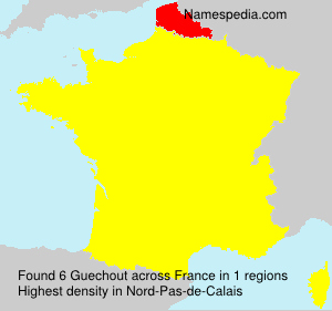 Surname Guechout in France