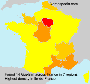Surname Guelzim in France