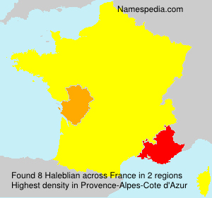 Haleblian - France