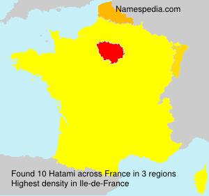 Familiennamen Hatami - France