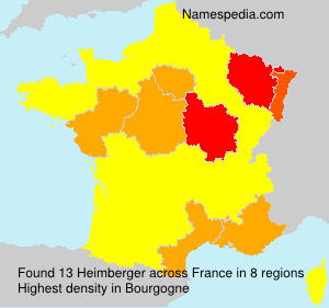 Surname Heimberger in France
