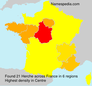 Surname Herche in France