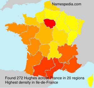 Familiennamen Hughes - France