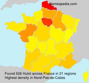Surname Hulot in France