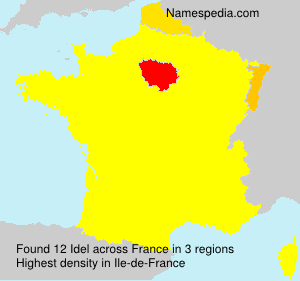 Surname Idel in France