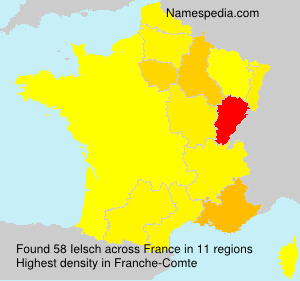 Surname Ielsch in France