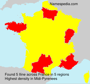Surname Iline in France