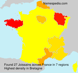 Surname Joissains in France