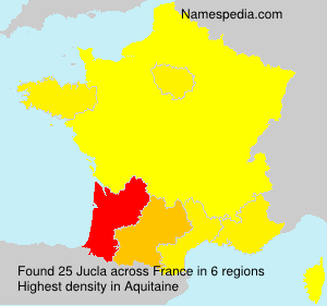 Surname Jucla in France