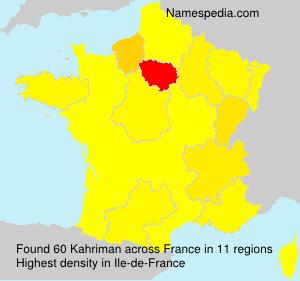 Kahriman - France