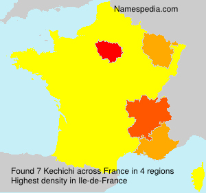 Surname Kechichi in France