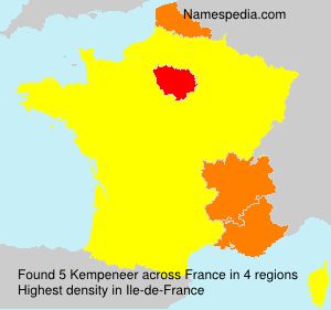 Surname Kempeneer in France