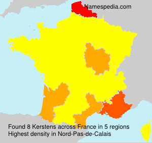 Surname Kerstens in France