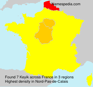 Surname Keyik in France
