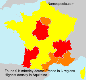 Surname Kimberley in France