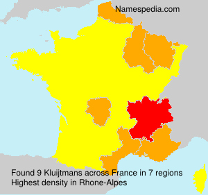 Surname Kluijtmans in France