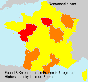 Surname Knieper in France