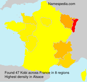Surname Kobi in France