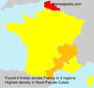 Surname Kreisz in France